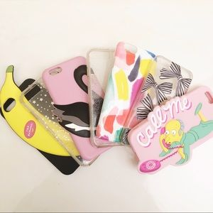IPhone 6/6S Kate Spade Novelty Case Cover Lot x7